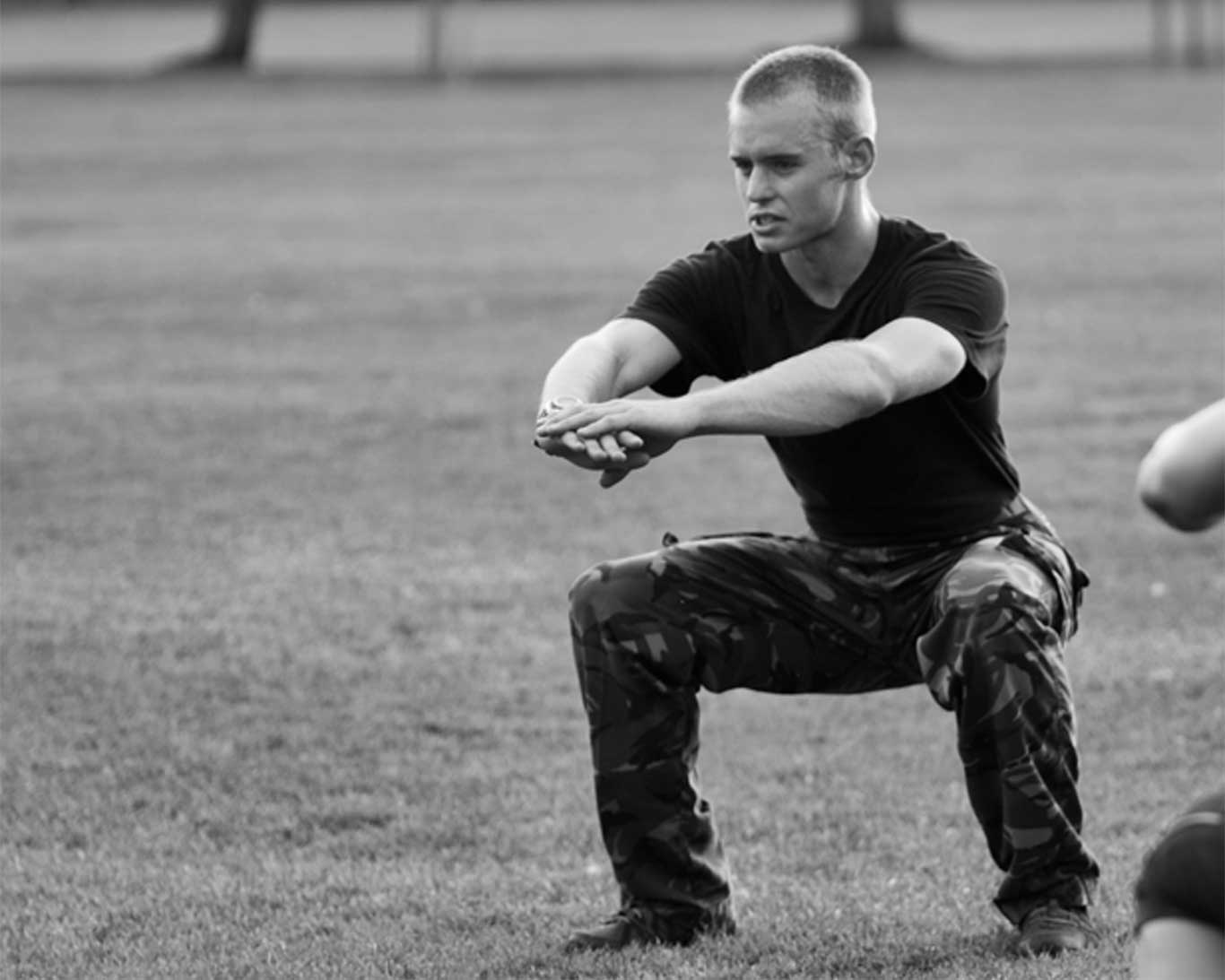 Military 1st Fitness Instructor, Craig Brown
